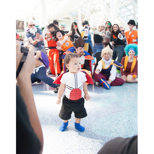 baby vegeta dragon ball cosplay dbz group anime expo