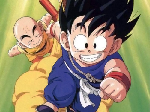 dragon ball origins goku krillin