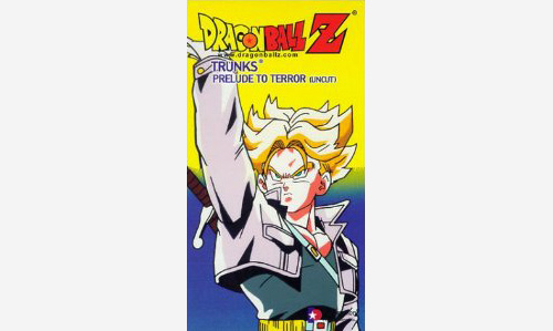 dragon ball z vhs cover trunks season