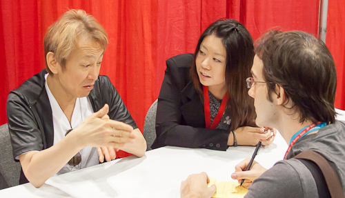 ryo horikawa vegeta voice actor interviewed by derek padula anime expo 2012