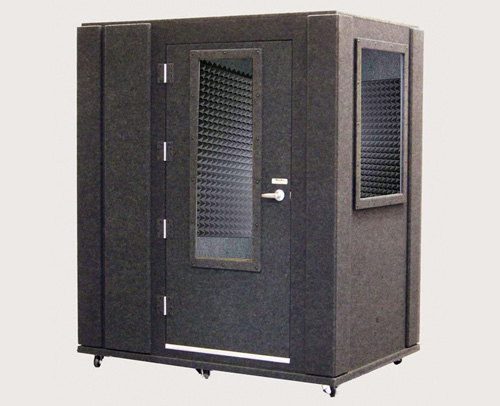 whisper room voice recording booth dbz funimation