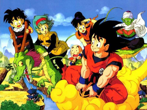 dragon ball z starting