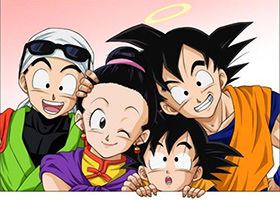 son goku family dbz