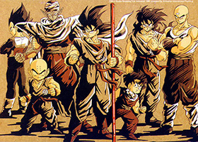 dragon ball z saiyan saga warriors