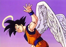 goku angel dragon ball divine