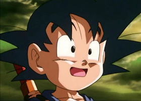 goku child happy face derek padula