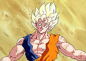 goku super saiyan beat up