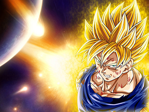 new dragon ball z anime super saiyan goku