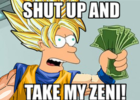 dbz book affiliate shut up and take my money