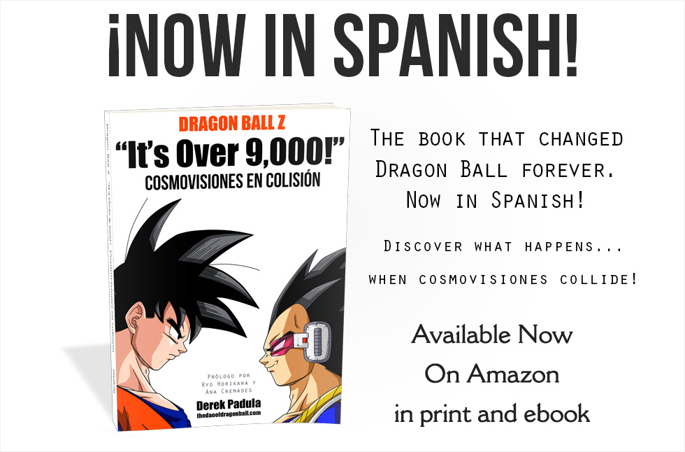 it's over 9,000 book now available in Spanish