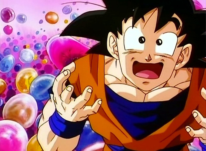 goku happy over 9000 book contest