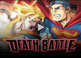 goku vs superman death battle