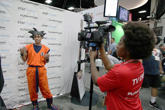 goku cosplay jahlon funimation channel