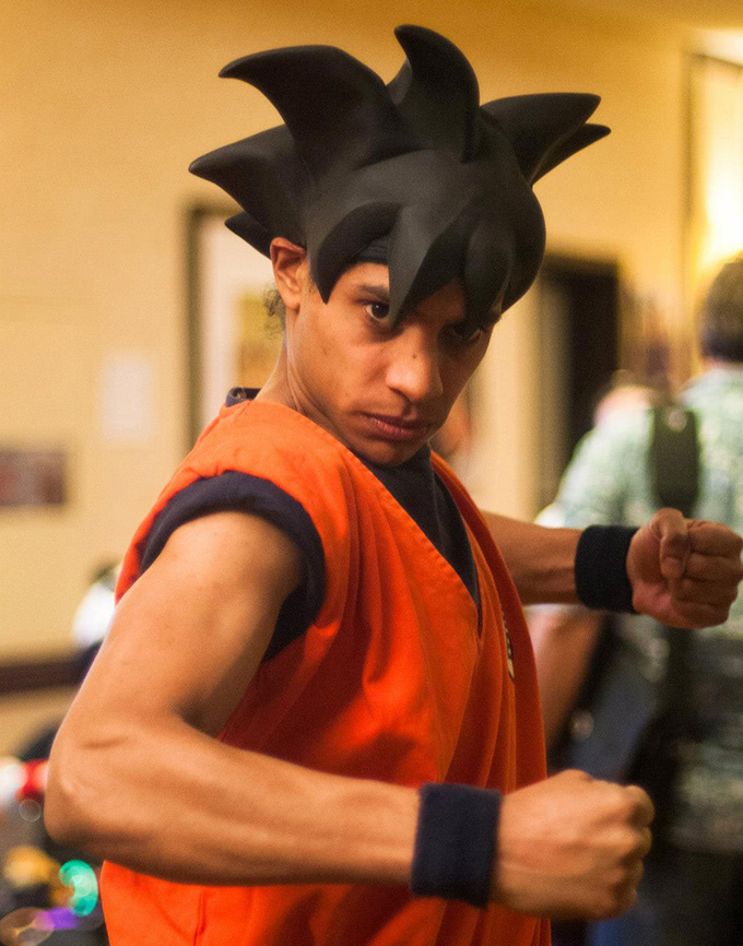The Goku Cosplayer Jah Lon The Dao Of Dragon Ball