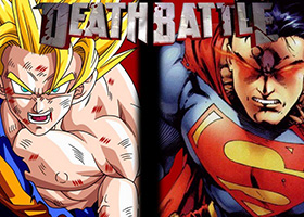 goku vs superman death battle group chta