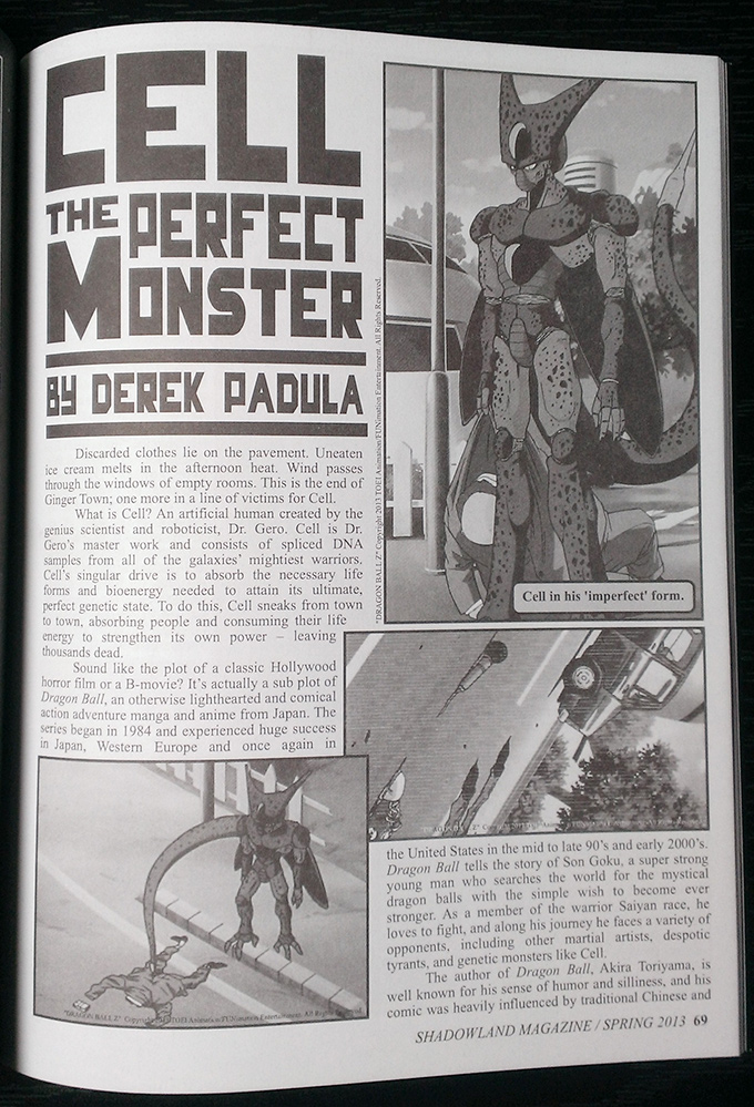 cell the perfect monster page 1