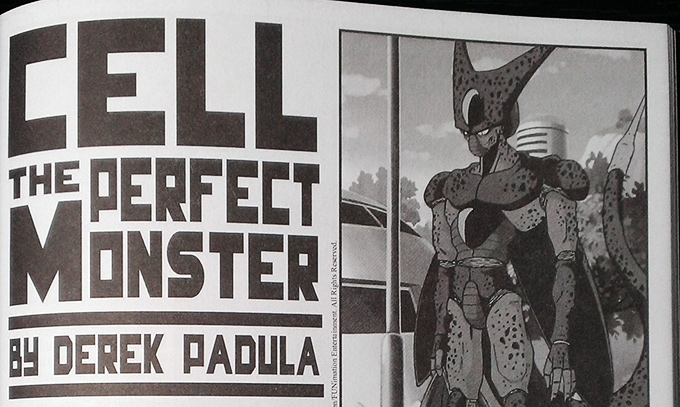 cell the perfect monster title by Derek Padula