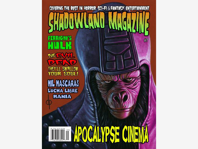 shadowland magazine number 7 with dragon ball z by derek padula