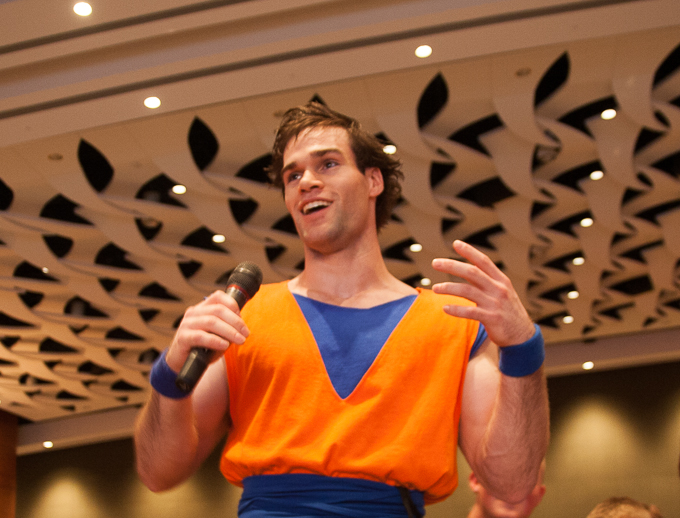 goku cosplay dbz animazement