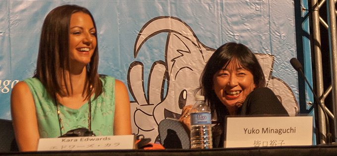 kara edwards yuko minaguchi dbz animazement