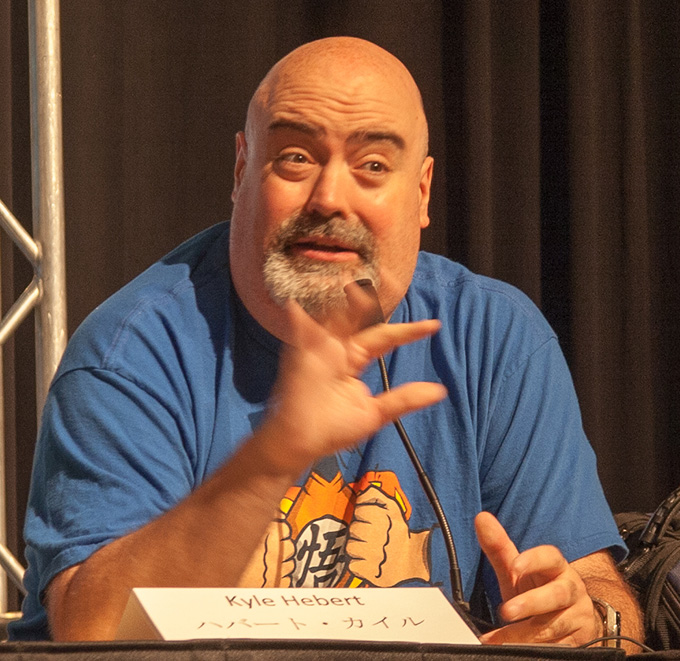 kyle hebert dragon ball z animazement