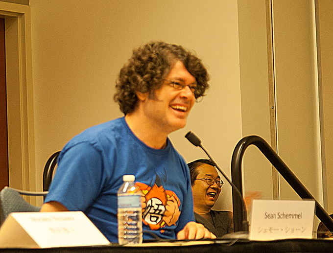 we are goku sean schemmel smile