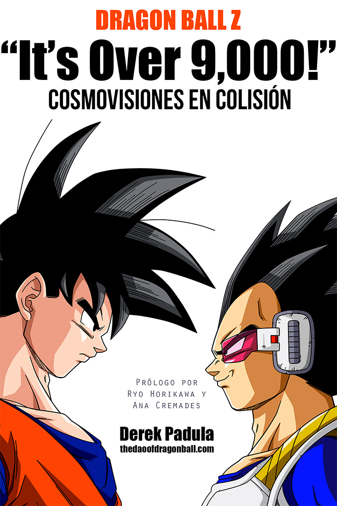 dragon ball z it's over 9000 cosmovisiones en colision cover
