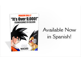 dragon ball z its over 9,000! spanish book available in print
