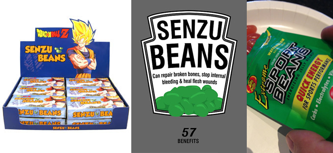 senzu beans food in real life