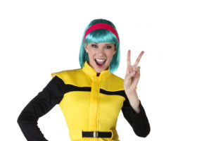 dragon ball z adult bulma halloween costume