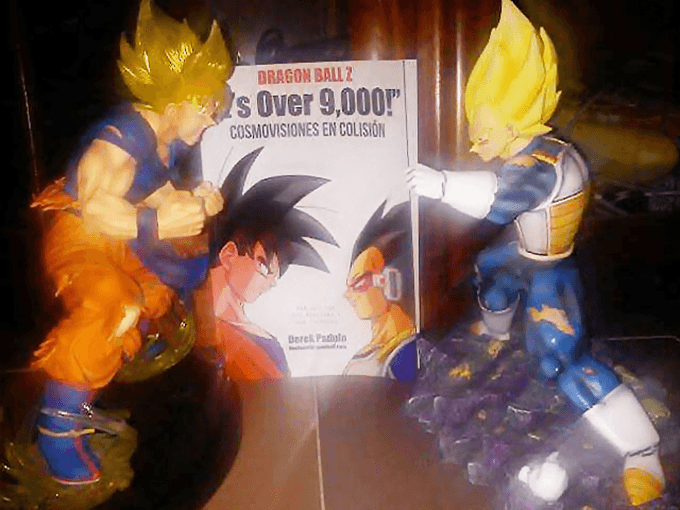 dragon ball z book fan over 9000