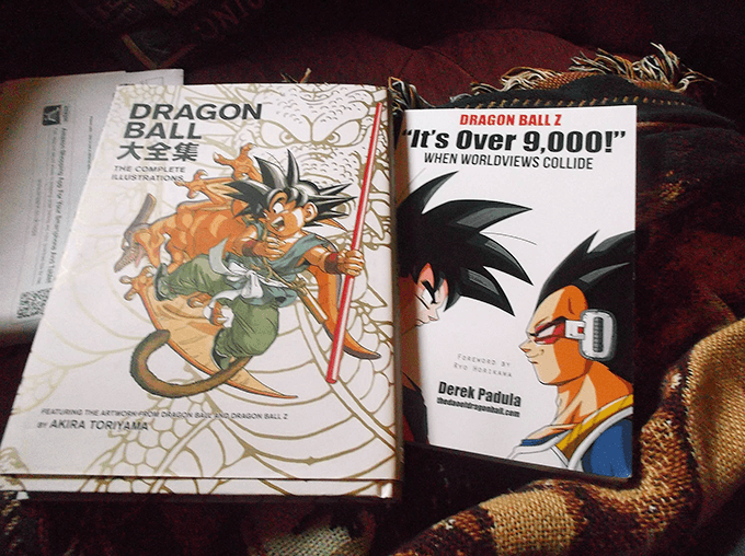 official dragon ball z books