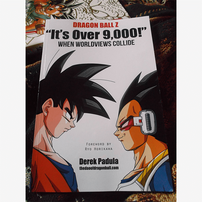 official dragon ball z book fan