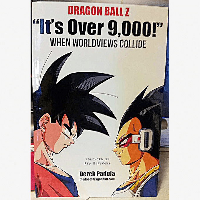 over 9000 book dbz
