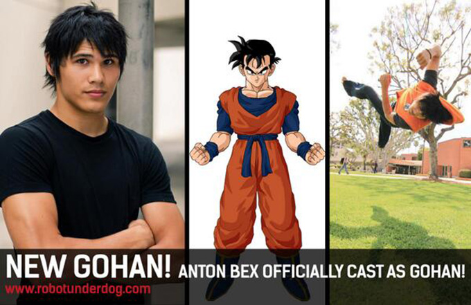 dragon ball z light of hope live action dbz gohan anton bex