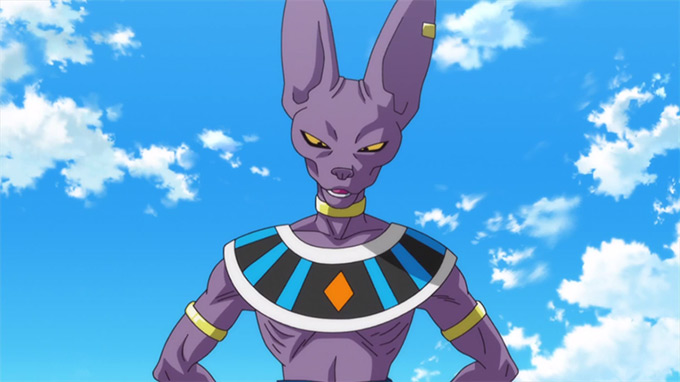 beerus dragon ball z battle of gods