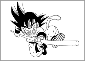 dragon ball goku nyoi-bo