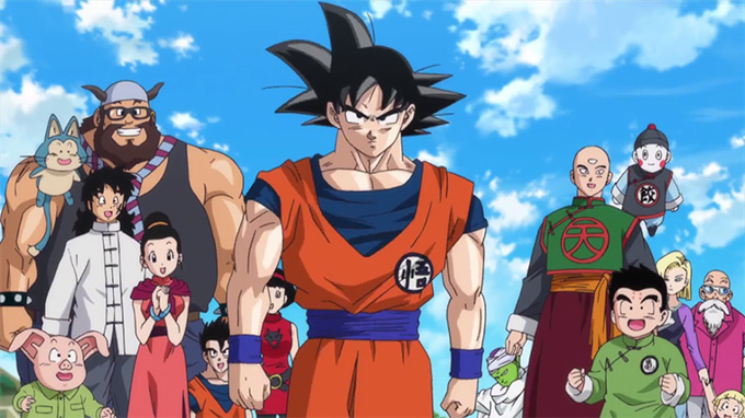 dragon ball z battle of gods cast