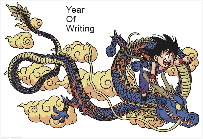 year of writing the dao of dragon ball