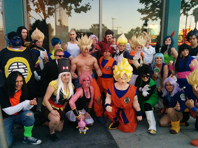 dragon ball z battle of gods red carpet premiere dbz fans