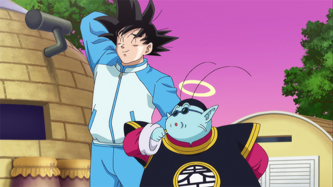 goku track suit dragon ball z battle of gods