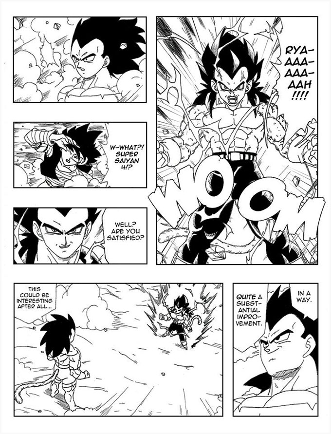 dragon ball new age action