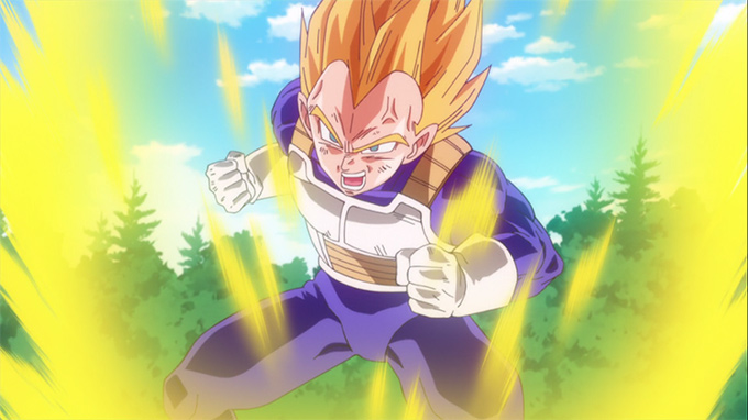 dragon ball z battle of gods super saiyan vegeta