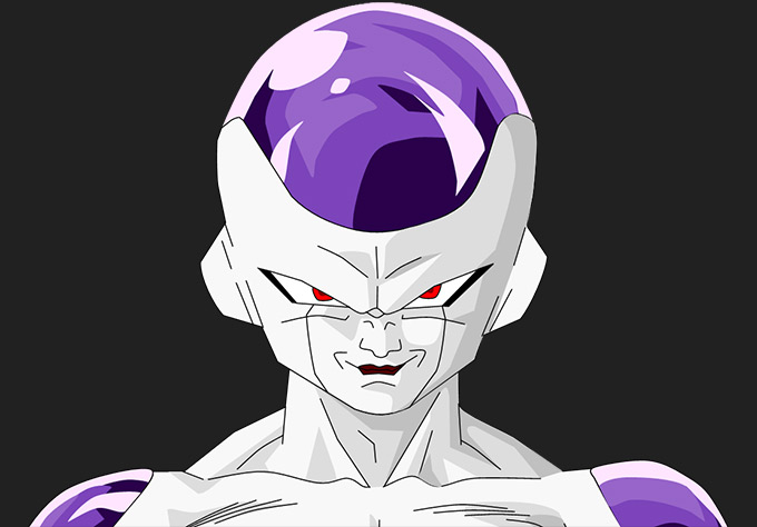 freeza final form dragon ball z fukkatsu no f