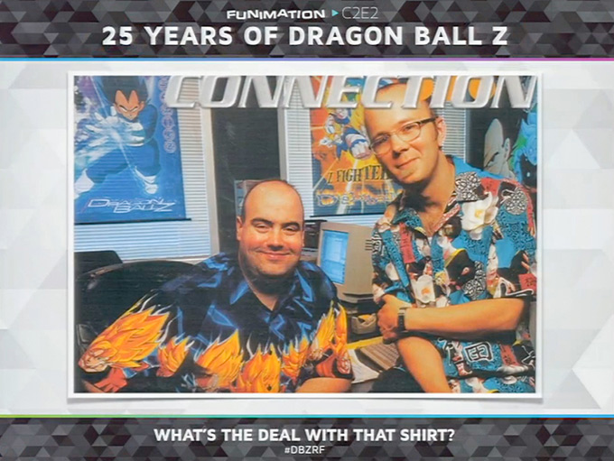 dragon ball z 25th anniversary chris sabat kyle hebert
