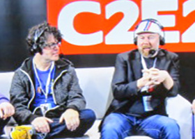 chris sabat sean schemmel twitch panel c2e2