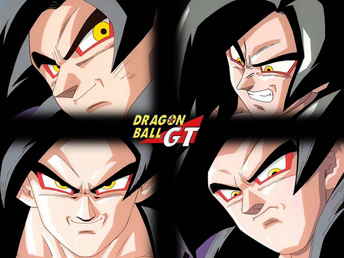 dragon ball gt goku super saiyan 4