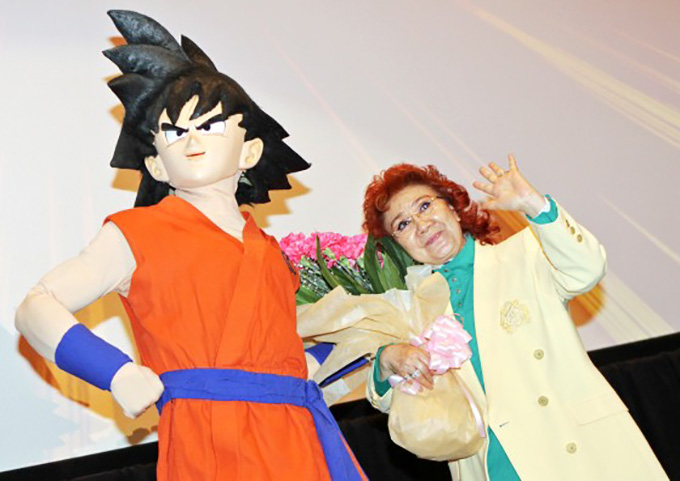 masako nozawa wave goku day 5 9 celebration 30 anniversary