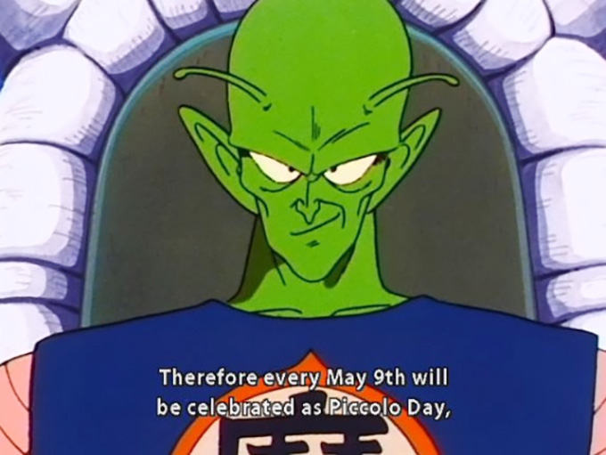 piccolo day 5 9 goku day