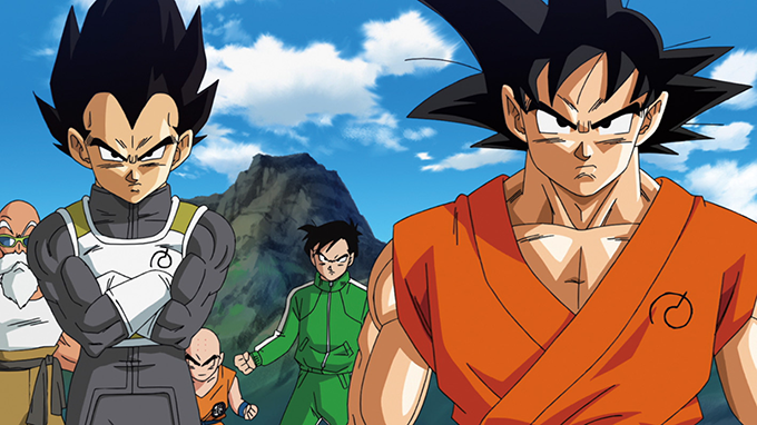 dragon ball z: resurrection f vegeta goku